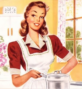 VintageHousewifeCooking