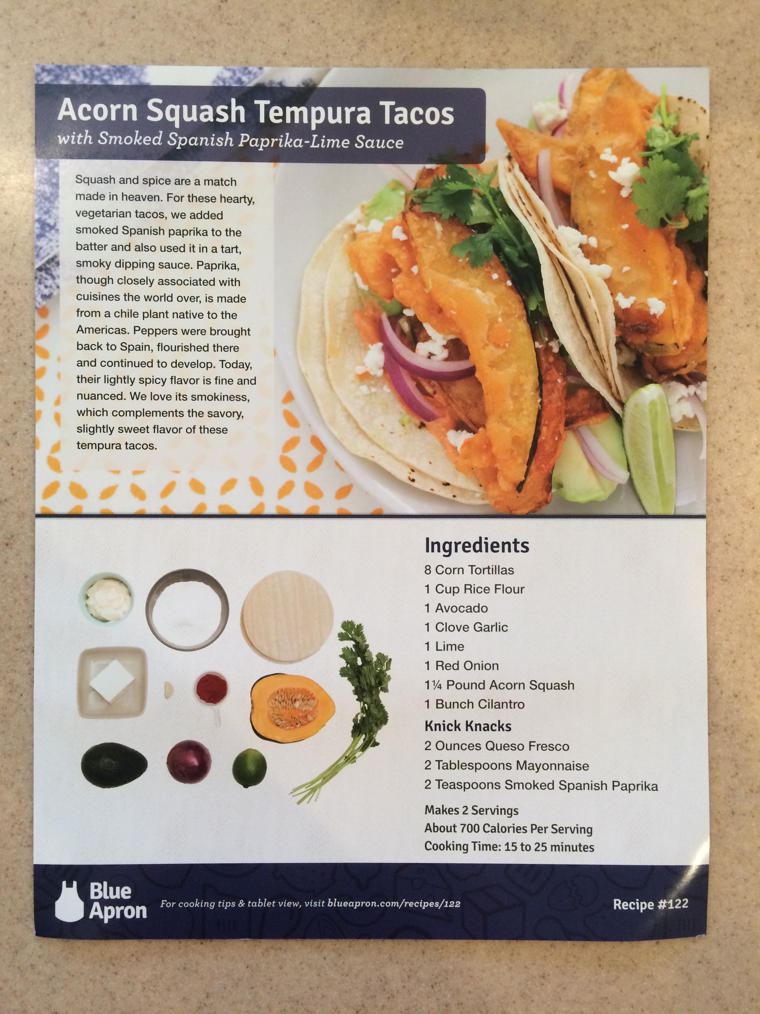 Blue apron tacos - I Was Very Nervous To Prepare This As We Don T Ever Have Meatless Dinners In Our Home But After Trying It I Couldn T Believe How Much Meatiness The